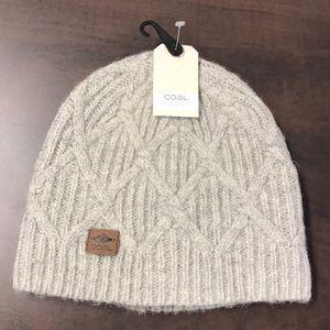 6d3a0814c9d Coal Accessories - NWT Coal The Yukon Chunky Knit Warm Beanie Hat